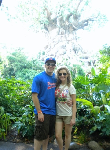 Hubby and I at Animal Kingdom in 2010